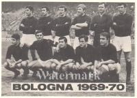 1969-70 Cartoncino Calendarietto Bologna FC
