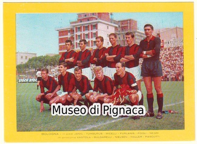 Bologna FC 1965-66 'NUZZI' Bologna FC (a Foggia) - photo ...