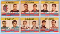 VAV 1961-62 figurine cartonate Bologna FC
