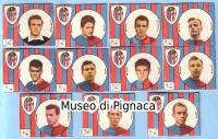 VAV 1958-59 - figurine cartonate Bologna FC