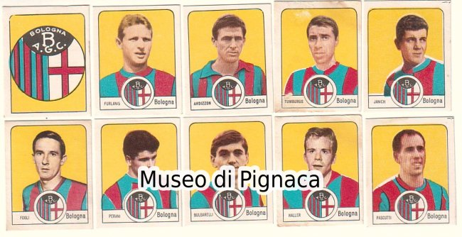 NANNINA 1967/68 figurine Bologna FC - photo from figurine ...