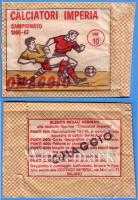 IMPERIA 1966-67 - Calciatori Imperia