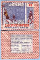 IMPERIA 1965-66 - CALCIATORI IMPERIA