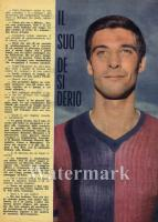 1967-68 Aristide Guarneri dall'Inter al Bologna