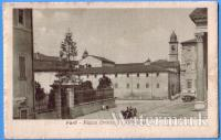1918 vg - Forlì - Piazza Ordelaffi e Cattedrale